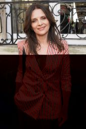 Juliette Binoche – Giorgio Armani Prive Fashion Show in Paris 07/03/2018
