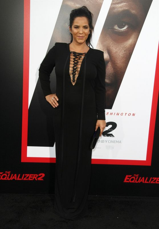 """Karen Strong – """"The Equalizer 2"""" Premiere in Los Angeles"""