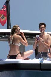 Karlie Kloss and Joshua Kushner on Holiday in Capri 07/20/2018