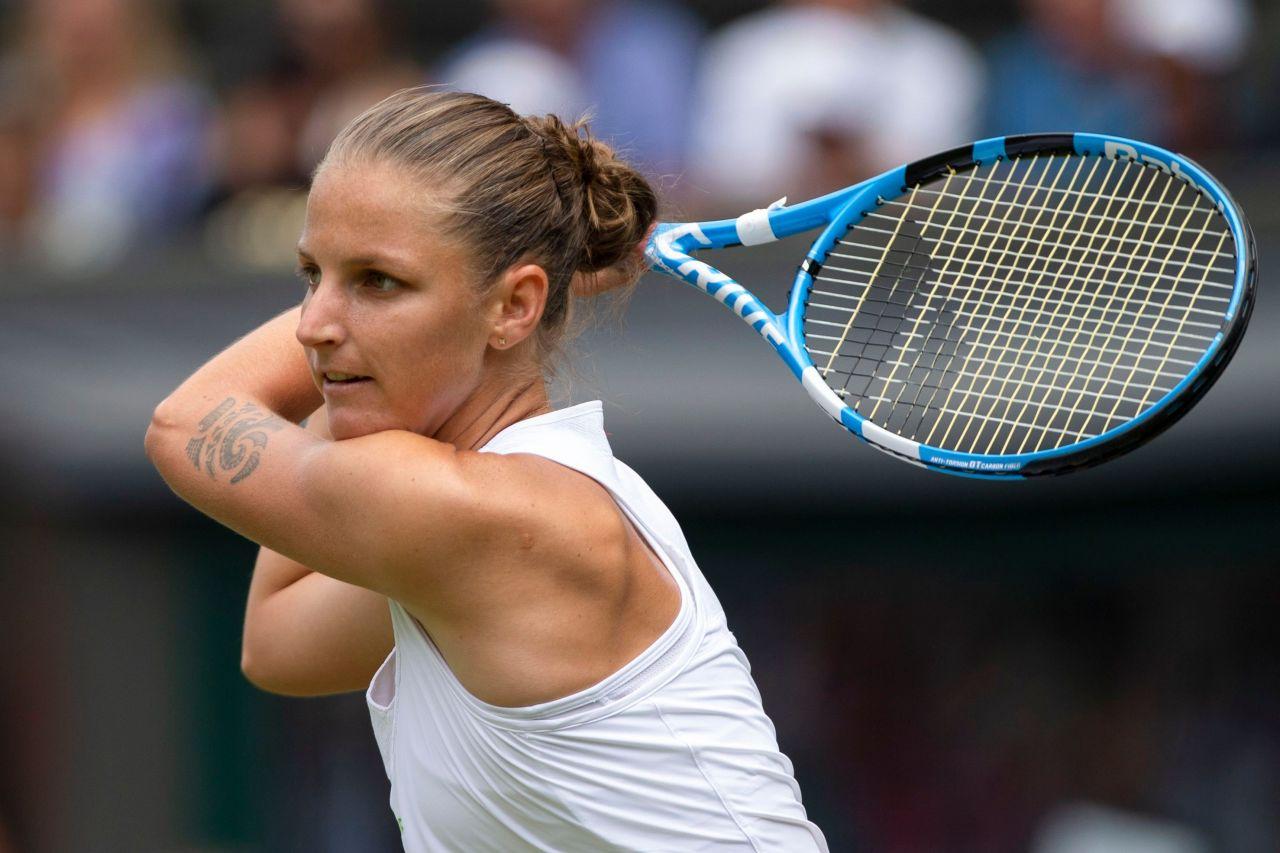 Karolina Pliskova Wimbledon Tennis Championships In