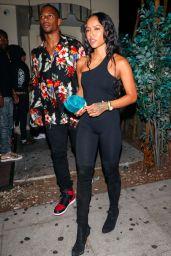 Karrueche Tran Night Out Style - Los Angeles, July 2018