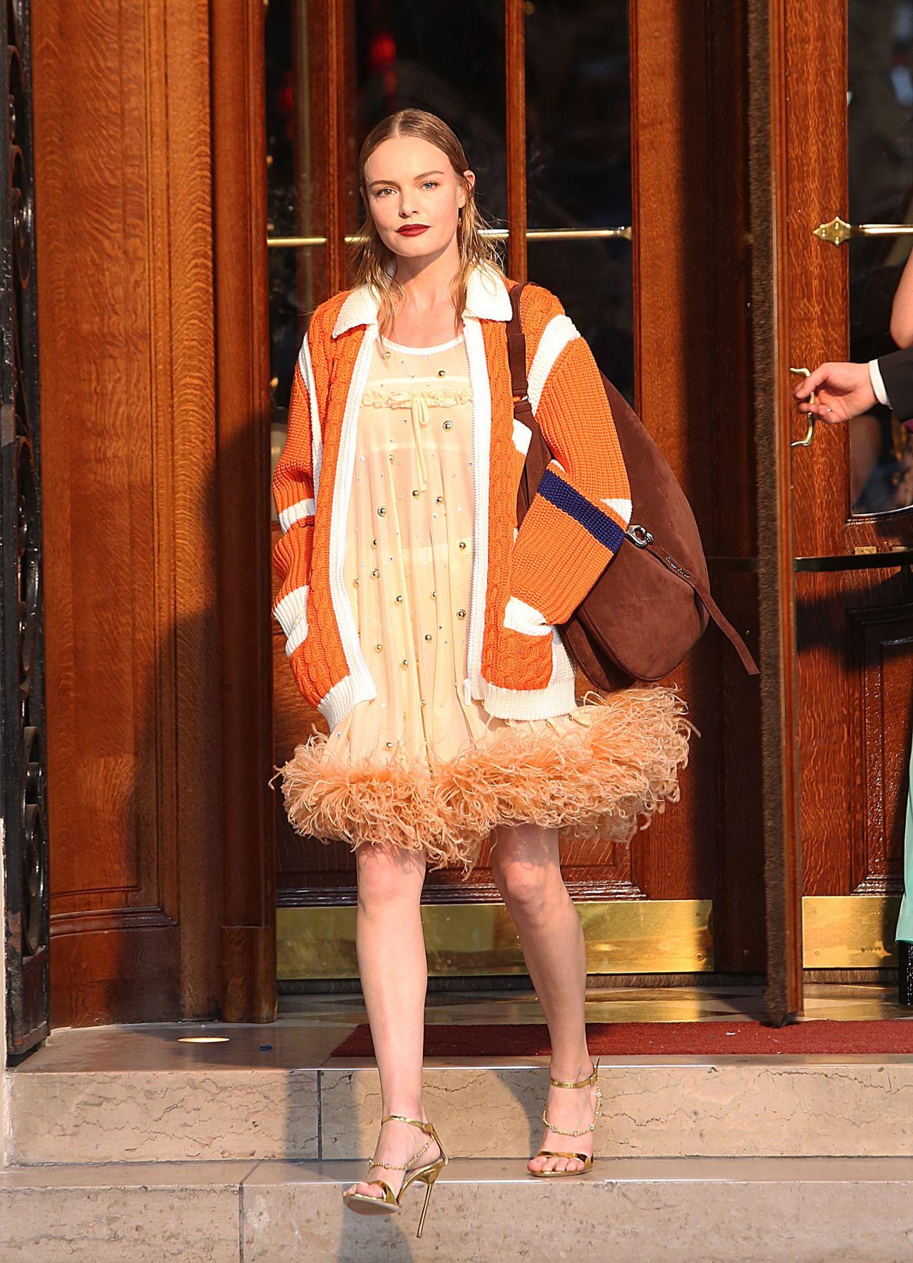 5c47839114f1 Kate Bosworth – Miu Miu Cruise Collection Show in Paris 06 30 2018