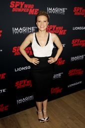 """Kate McKinnon – """"The Spy Who Dumped Me"""" Screening in New York"""