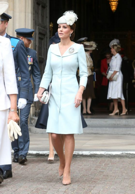 Kate Middleton – 100th Anniversary Service RAF in Westminster Abbey