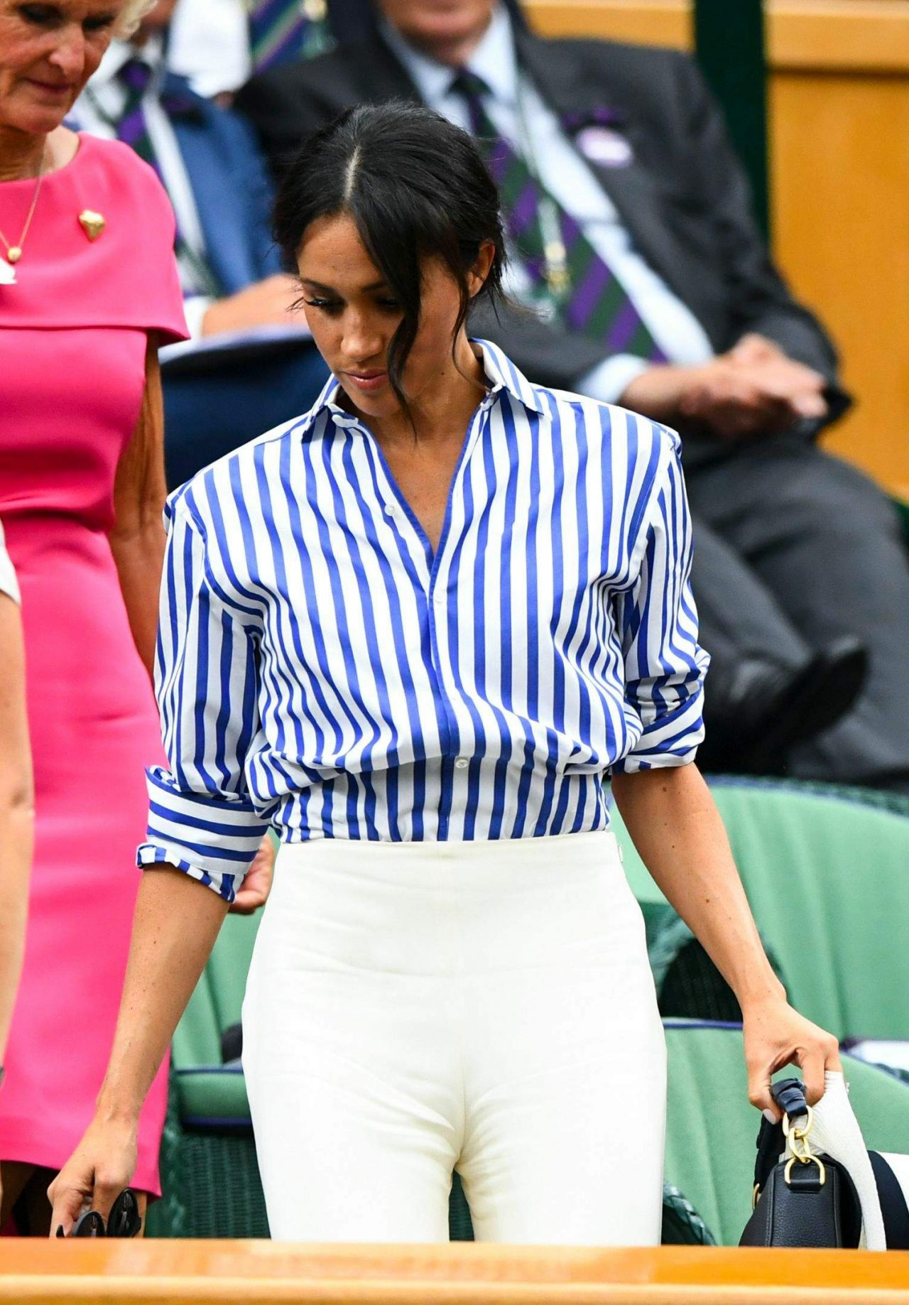 Kate Middleton And Meghan Markle At Wimbledon In London 07
