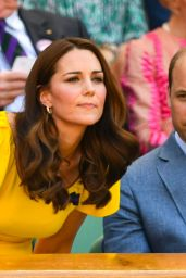 Kate Middleton and Prince William - Wimbledon Tennis Championships 07/15/2018