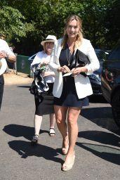 Kate Winslet Arriving at Wimbledon Tennis Tournament 07/15/2018