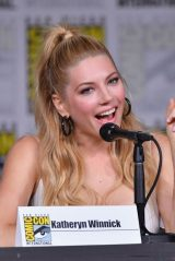 Katheryn Winnick - Vikings Panel at SDCC 2018