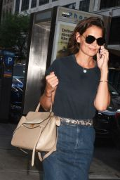 Katie Holmes in Midtown, New York 07/29/2018