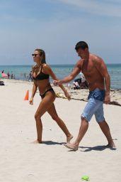 Kayla Rae Reid in Bikini on the Beach in Miami 07/15/2018