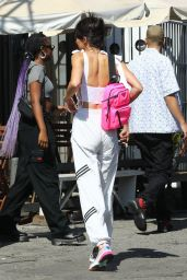 Kendall Jenner, Ben Simmons and Justine Skye Shopping at Elodie K in LA 07/20/2018