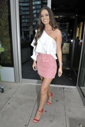 Kendall Rae Knight at Menagerie Restaurant in Manchester