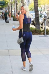 Khloe Terae in Spandex - Out in Beverly Hills