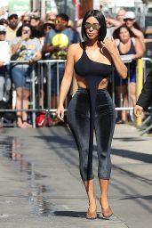 Kim Kardashian Arriving to Appear on Jimmy Kimmel in Hollywood 07/30/2018