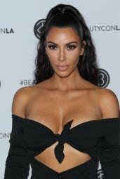 Kim Kardashian - Los Angeles Beautycon Festival in LA 07/14/2018