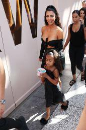Kim Kardashian - Yogurt Land in Los Angeles 07/15/2018