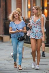 Kimberley Garner - Out in London 07/27/2018