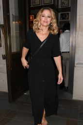 Kimberley Walsh - Out in Soho 07/23/2018