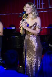 Kimberley Walsh Performs at Crazy Coqs in Central London 07/23/2018