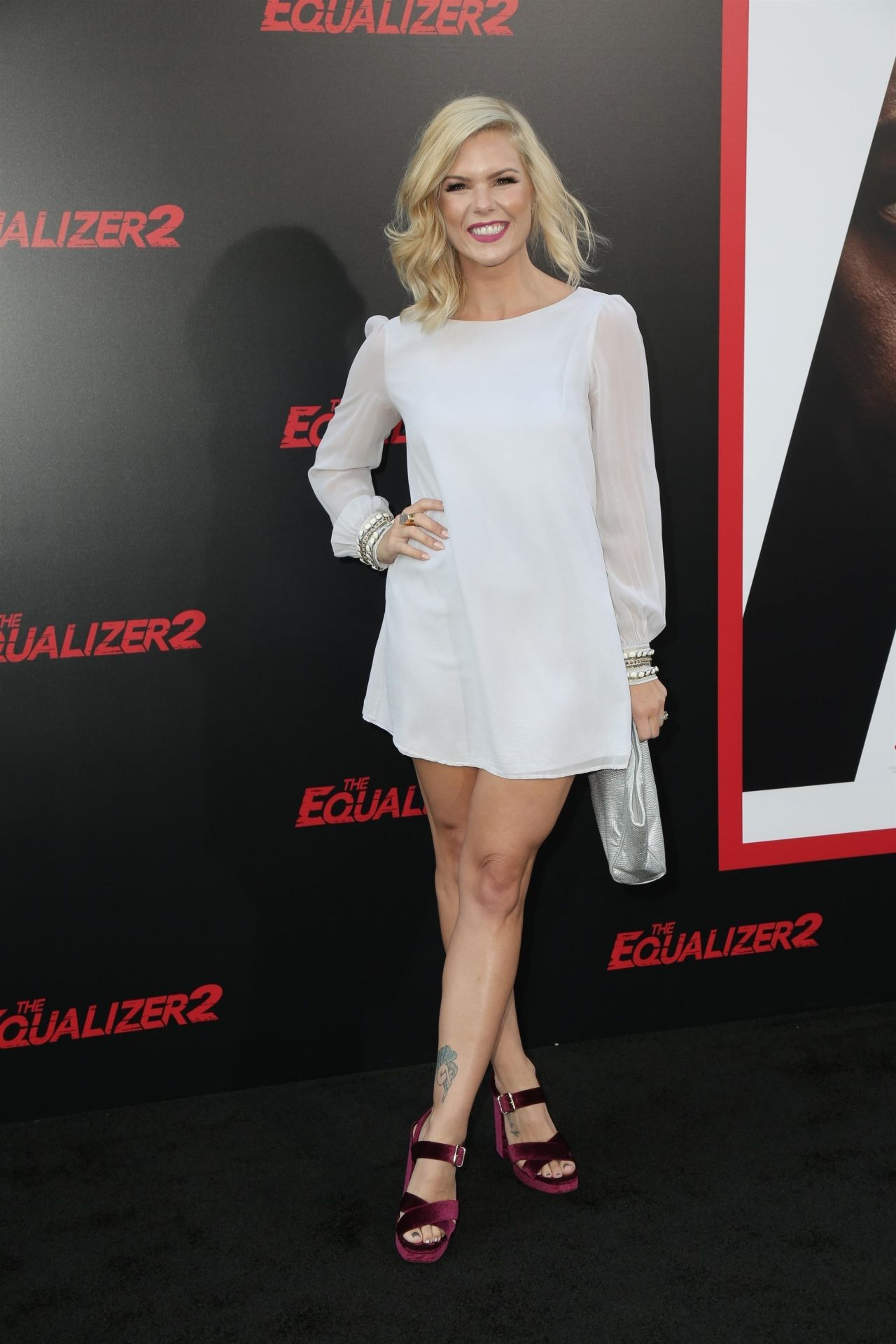 Kimberly Caldwell Quot The Equalizer 2 Quot Premiere In Los Angeles