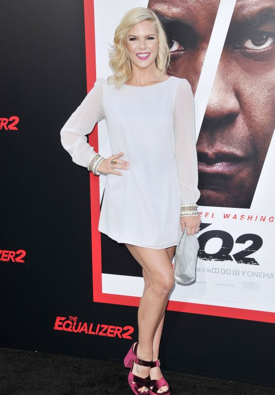 """Kimberly Caldwell - """"The Equalizer 2"""" Premiere in Los Angeles"""