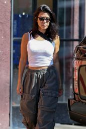 Kourtney Kardashian at Carousel Restaurant in LA 07/13/2018