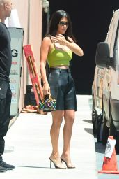 Kourtney Kardashian - Filming for Her Show in West Hollywood 07/19/2018