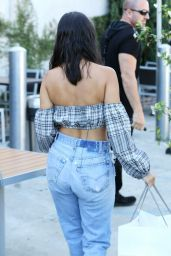 Kourtney Kardashian – Outside an Art Studio in Los Angeles 07/23/2018