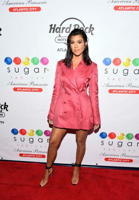 Kourtney Kardashian - Sugar Factory Grand Opening in Atlantic City