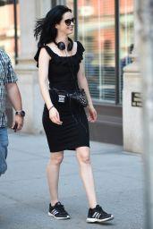 "Krysten Ritter - Filming ""Jessica Jones"" in NYC 07/10/2018"