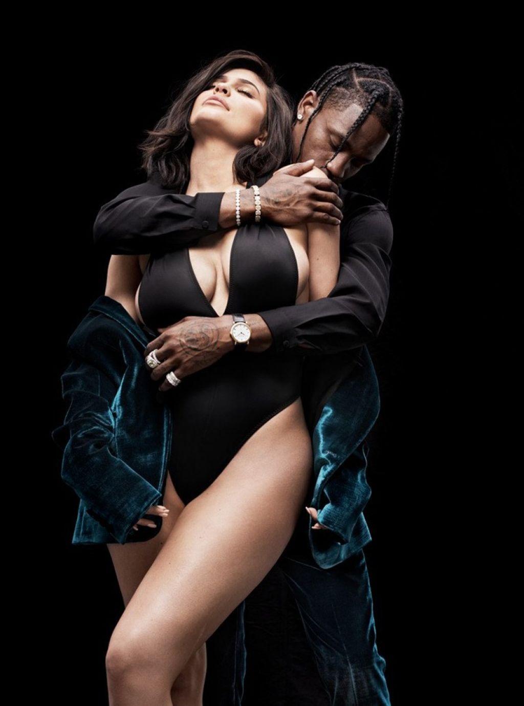 Kylie Jenner And Travis Scott Gq Magazine August 2018