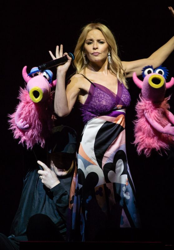 Kylie Minogue & The Muppets  at The O2 Arena in London 07/13/2018