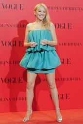 Kylie Minogue – VOGUE Spain 30th Anniversary Party in Madrid