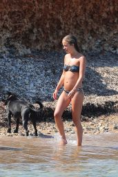 Lady Amelia Windsor in Bikini on a Beach Ibiza 07/28/2018
