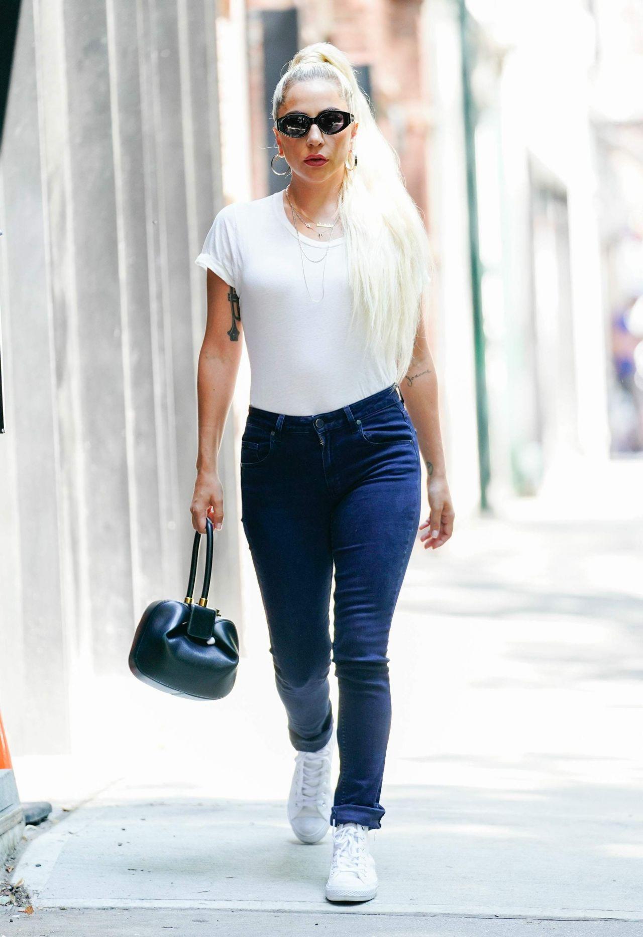 Lady Gaga Street Style New York City 07 13 2018