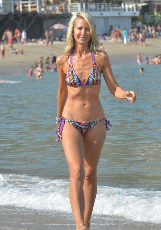 Lady Victoria Hervey in Bikini at the Beach in LA 07/07/2018