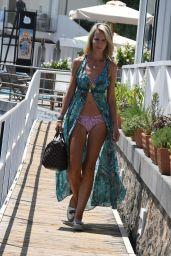 Lady Victoria Hervey in Bikini - Hotel Regina Isabella in Ischia 07/17/2018