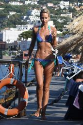 Lady Victoria Hervey in Bikini in Ischia 07/21/2018