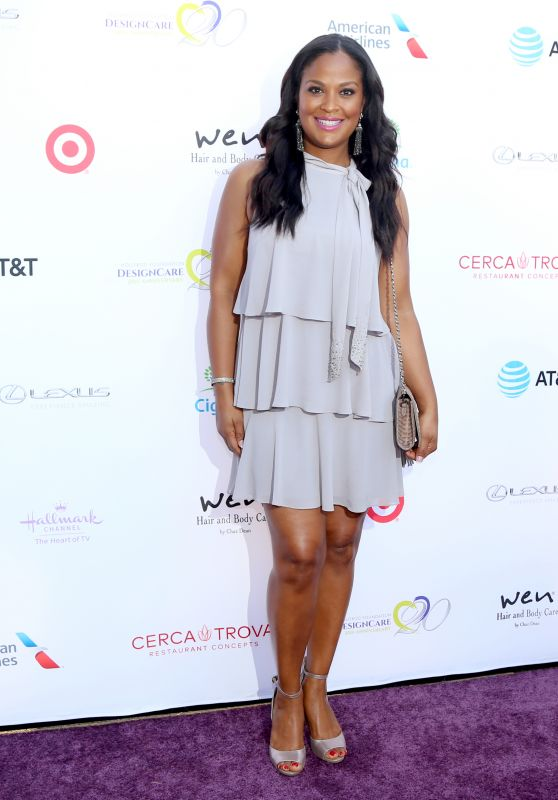Laila Ali - HollyRod 20th Annual DesignCare in Malibu