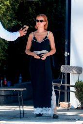 Lara Bingle at Gracias Madre in West Hollywood 07/24/2018