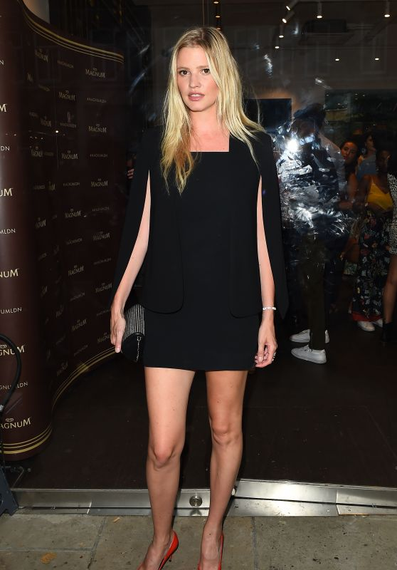 Lara Stone - Magnum VIP Launch Party in London