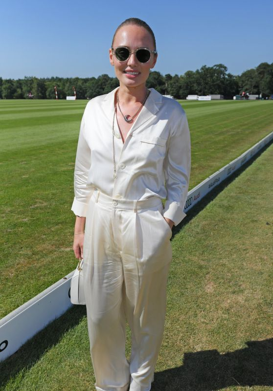 Laura Haddock – Audi Polo Challenge in Ascot 07/01/2018
