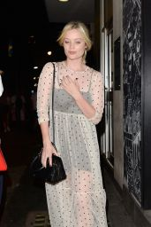 Laura Whitmore - Leaves The Soho Theatre in London 07/24/2018