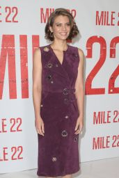 "Lauren Cohan - ""Mile 22"" Photocall in Los Angeles"