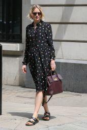 Lauren Laverne - Leaving BBC Radio 6 Studios in London