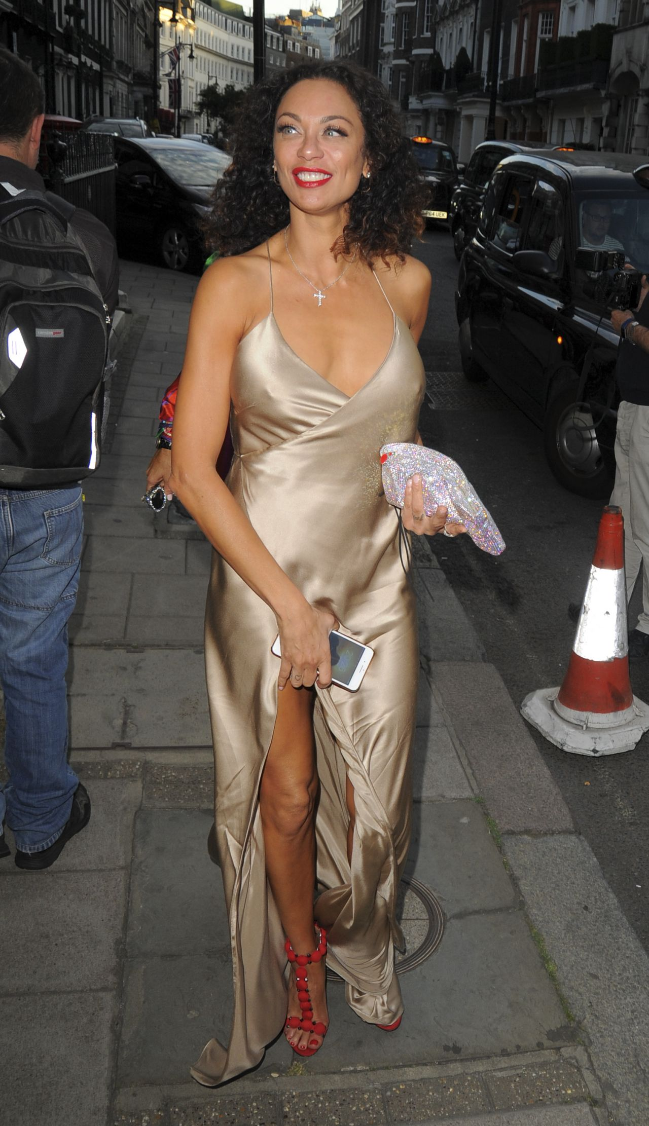 Lilly Becker Nigty Out Style Marks Club Mayfair In London