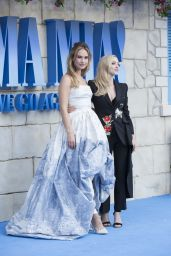 "Lily James - ""Mamma Mia: Here We Go Again"" Premiere in London"