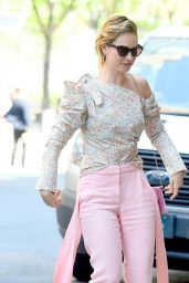 Lily James - Outside ABC Studios in NYC 07/18/2018
