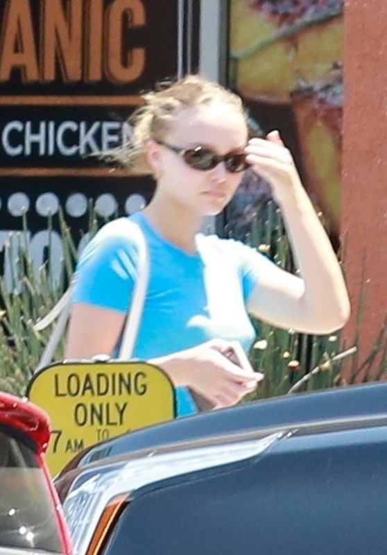 Lily-Rose Depp - Shopping in Los Angeles 07/29/2018