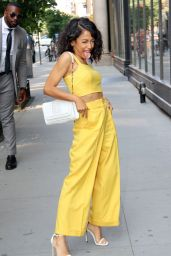 Liza Koshy in All Yellow - New York 07/16/2018